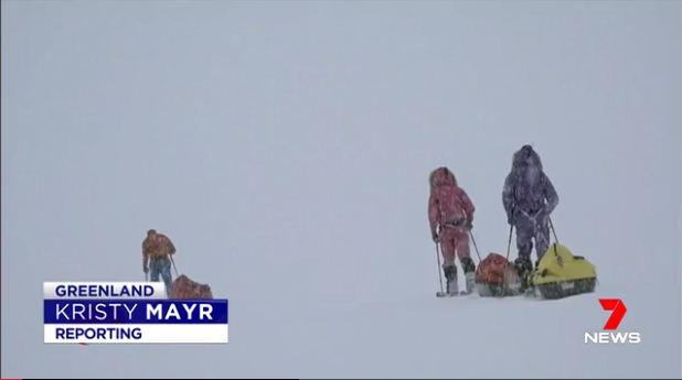 Seven News: Melbourne teen trekker aims to smash world